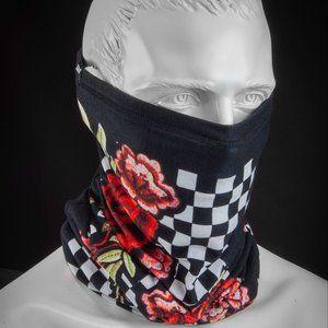NWT Checkered Rose Motley Tube